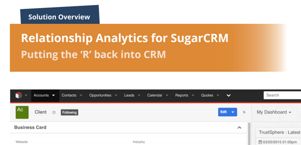 Trustsphere for SugarCRM