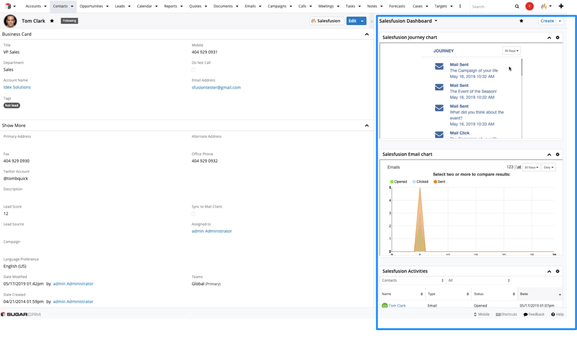 Salesfusion and SugarCRM Drive Better Sales Insights